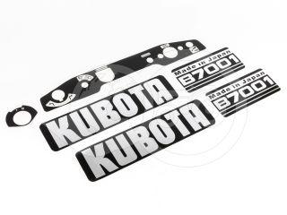Felirat készlet (Kubota B7001) (0)