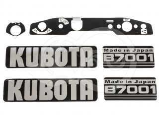 Felirat készlet (Kubota B7001) (1)