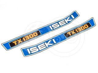 Felirat készlet Iseki TX1300 japán kiskistraktorhoz (0)