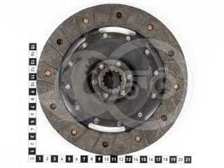 Kuplungtárcsa ka-cd9 csillapítás nélkül 13 bordás, D=200mm, Iseki kistraktorokhoz (2)