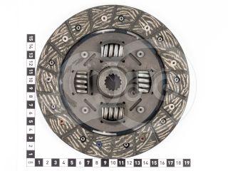 Kuplungtárcsa (Kubota B1-14) (2)