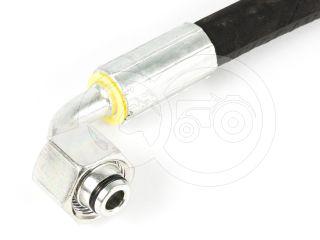 Hidraulika tömlő 400 mm egyenes - 90° könyök (1)