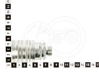 Hidraulika gyorscsatlakozó 18-as, erőgép felőli oldal (2)