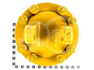 Kardántengely villa 85LE (62kW), kuplungos, 07B kardántengelyekhez (2)