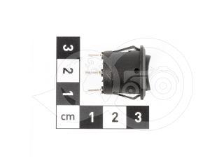 Kapcsoló, 2 állású, 3 lábú, kerek formájú (3)