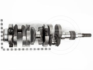 traktor motor Kubota D750 főtengely, csapágysorral, alapméretű, használt (5)