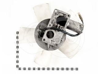 traktor motor Kubota D750 dinamó, ventillátorral, használt (2)
