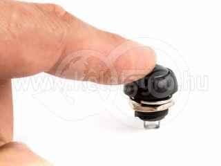 Nyomógombos kapcsoló, vízmentes, 10db-os csomag (2)