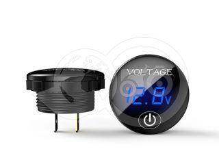 Feszültségmérő óra, kapcsolóval, digitális, japán kistraktorhoz (0)