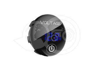Feszültségmérő óra, kapcsolóval, digitális, japán kistraktorhoz (3)