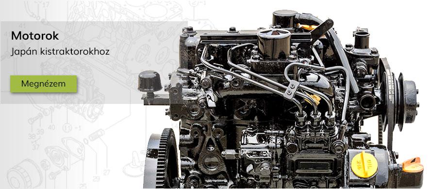Japán kistraktor motorok