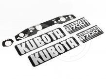 Felirat készlet (Kubota B7001)